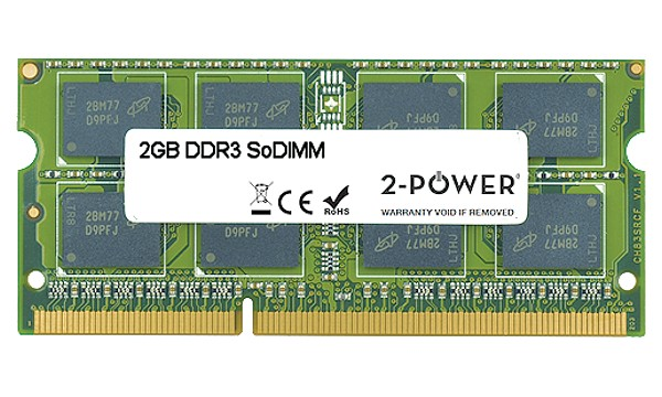 Satellite Pro C660-2N2 2GB DDR3 1066MHz DR SoDIMM