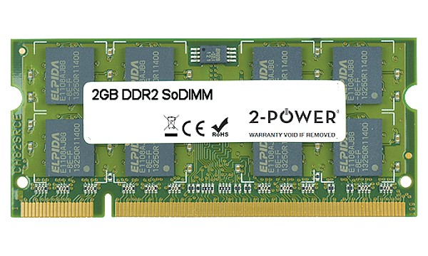 Aspire One D250-1325 2GB DDR2 667MHz SoDIMM