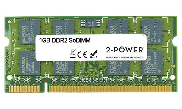 Satellite P200D-AK3 1GB DDR2 667MHz SoDIMM