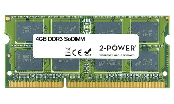 XPS 14 (L401X) 4GB MultiSpeed 1066/1333/1600 MHz SoDiMM