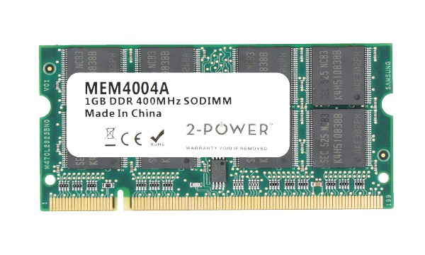 TravelMate 6465WLMi 1GB PC3200 400MHz SODIMM