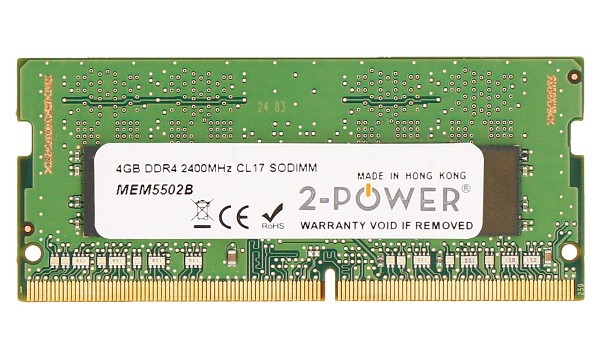 Pavilion x360 14-cd0008ns 4GB DDR4 2400MHz CL17 SODIMM